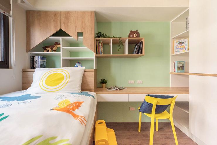 玩工業 澄月室內設計 青少年房