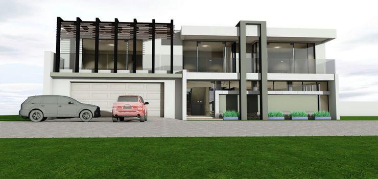 facade homify Modern houses
