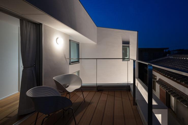 hm+architects 一級建築士事務所 Modern Terrace