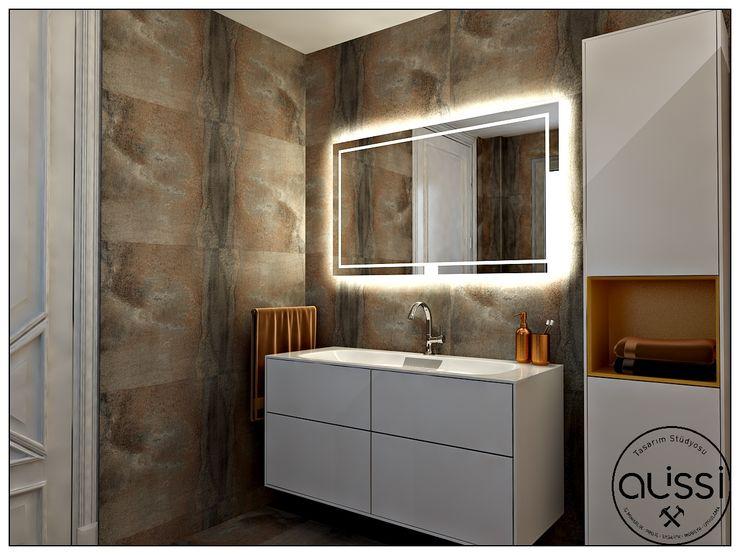 KES / VİLLA ALİSSİ İÇ MİMARLIK Modern Banyo