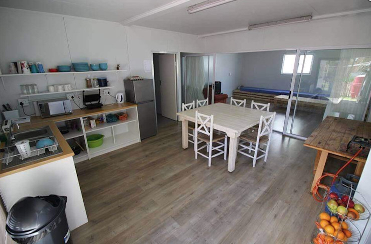 The open-plan socialising zone Container Rental and Sales (Pty) Ltd Kitchen