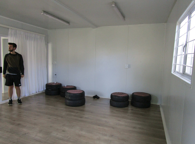 Container Housing for Ubuntu Football Club Container Rental and Sales (Pty) Ltd Living room