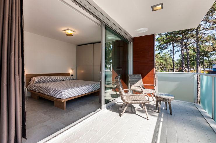 Casa MM Elia Falaschi Fotografo Camera da letto moderna