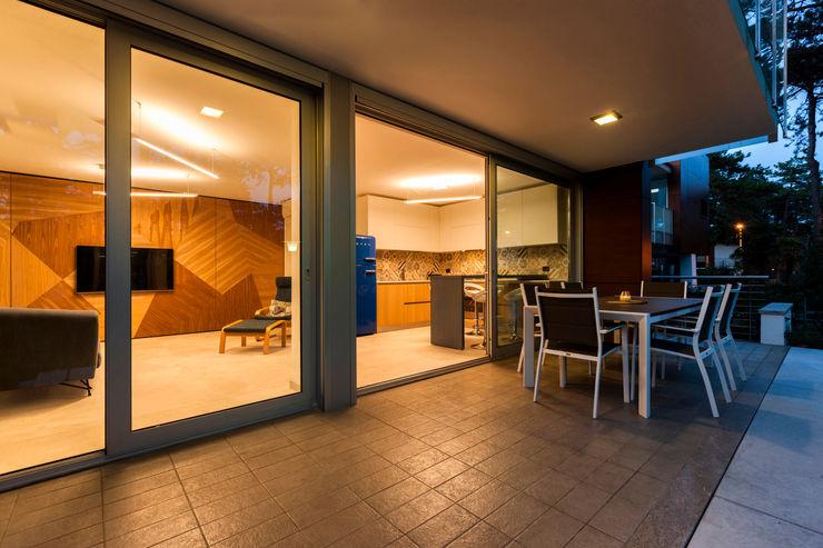 Casa MM Elia Falaschi Fotografo Sala da pranzo moderna