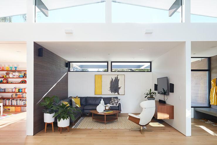 Klopf Architecture 现代客厅設計點子、靈感 & 圖片