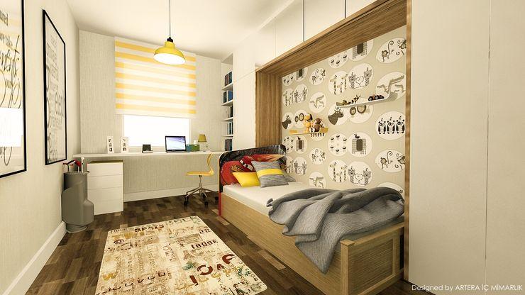 ARTERA İÇ MİMARLIK VE MİMARLIK Dormitorios infantiles modernos