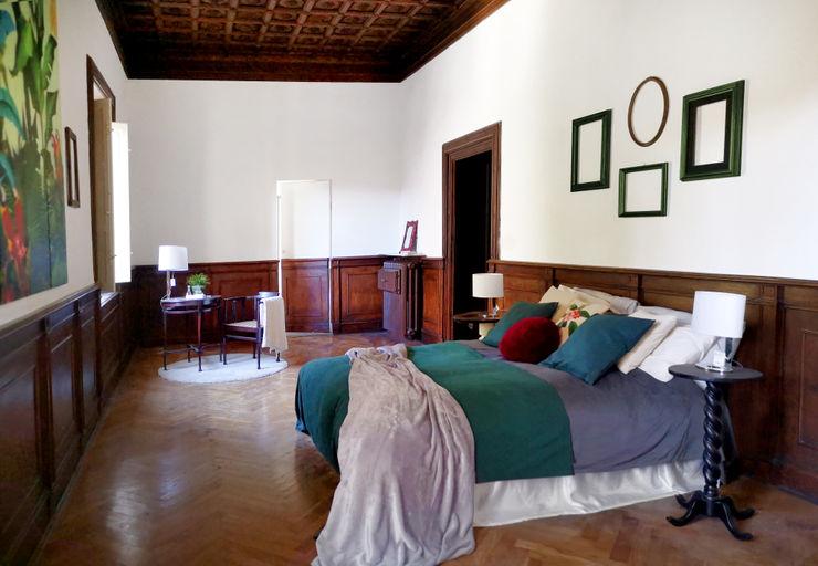 Camera: finiture e funzioni. Rifò Camera da letto in stile classico