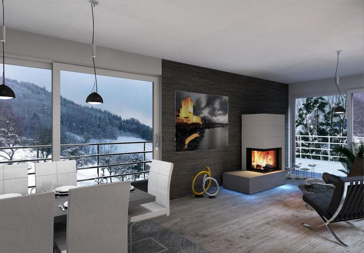 CB-tec GmbH Living roomFireplaces & accessories