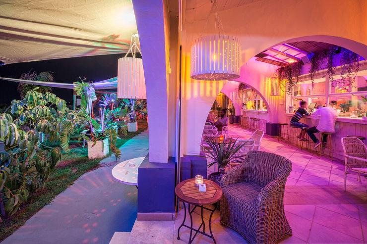 Beach Club en Zahara de los Atunes (Cádiz) Idearte Marta Montoya Comedores mediterráneos