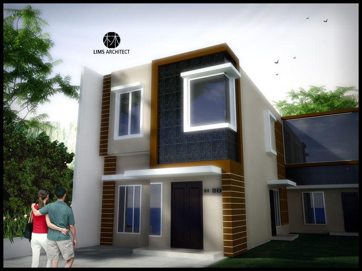Lims Architect Casas de estilo minimalista