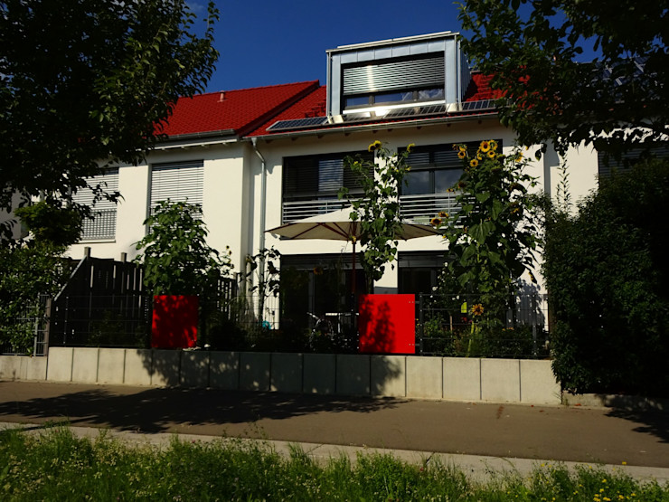 Junker Architekten Passive house Concrete White