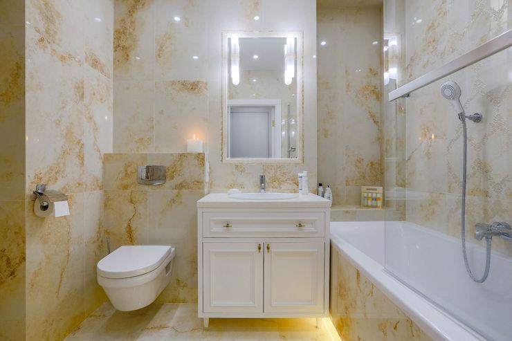 Ванная Design Service Ванная в классическом стиле Бежевый