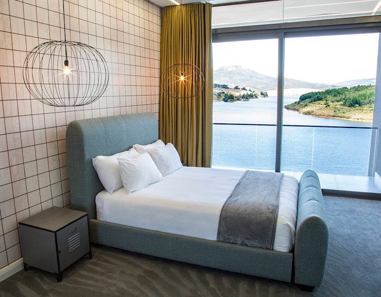 Guest Bedroom AB DESIGN Minimalist bedroom