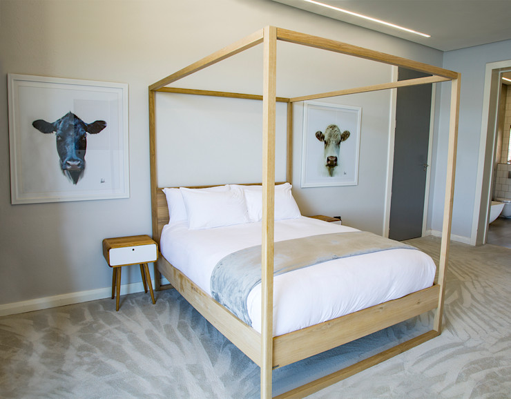 Guest Bedroom 2 AB DESIGN Minimalist bedroom