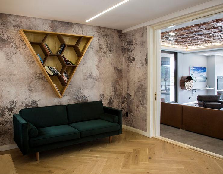 Library AB DESIGN minimalist conservatory