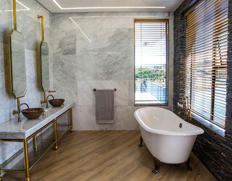 Master Bathroom AB DESIGN Minimal style Bathroom