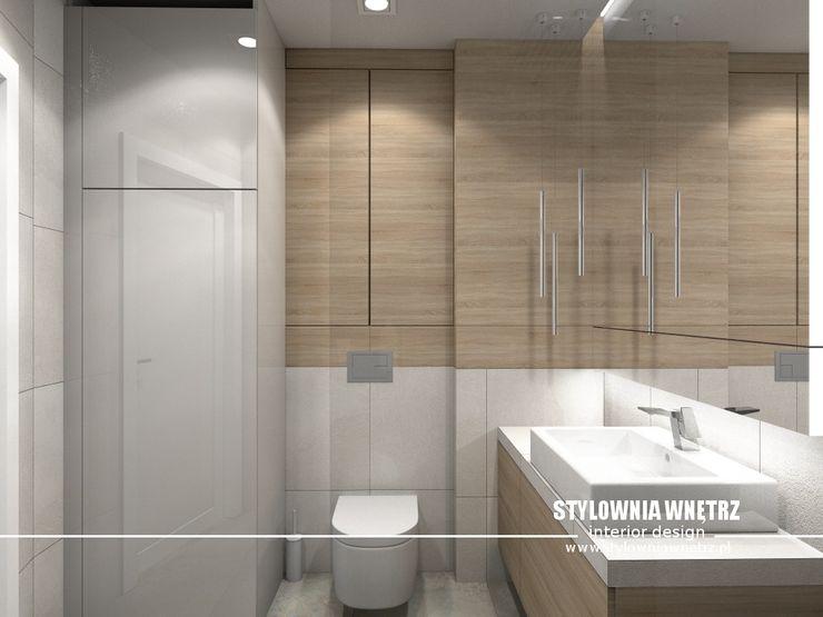 łazienka Stylownia Wnętrz Nowoczesna łazienka Beżowy