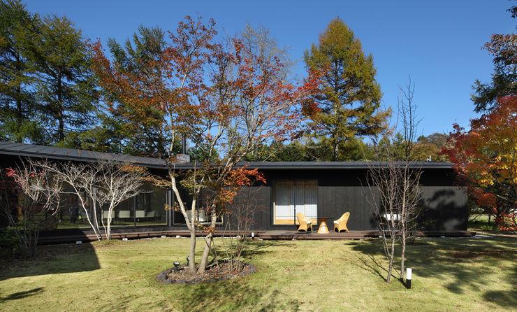 森を包む家 -軽井沢別荘- Studio tanpopo-gumi 一級建築士事務所 別荘 木