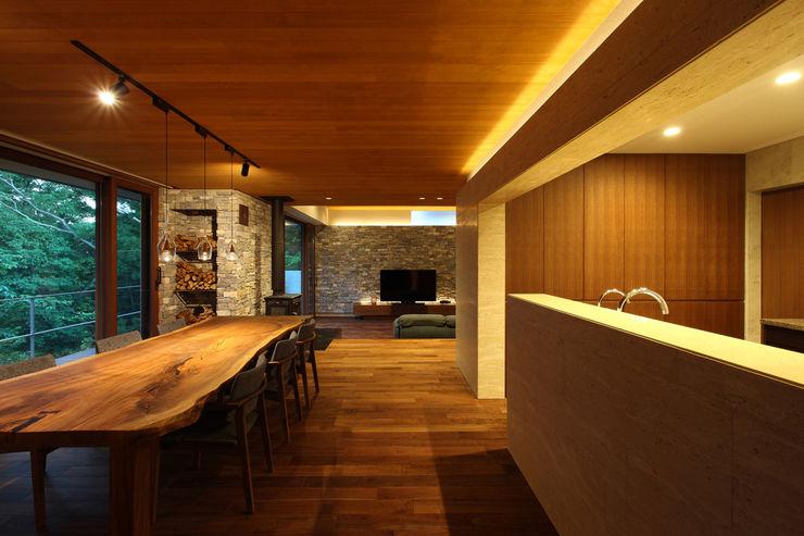Studio tanpopo-gumi 一級建築士事務所 모던스타일 거실