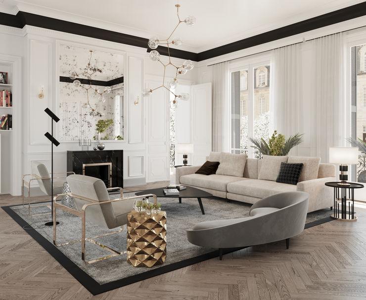 Dessiner Interior Architectural Living room