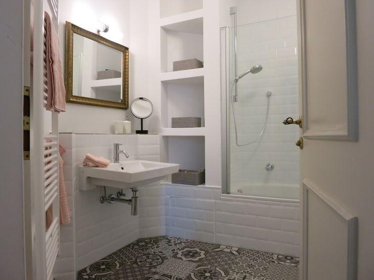 Badezimmer Eins - NACHHER Tschangizian Home Staging & Redesign
