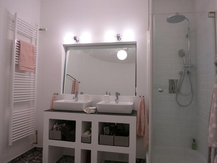 Badezimmer Zwei - NACHHER Tschangizian Home Staging & Redesign