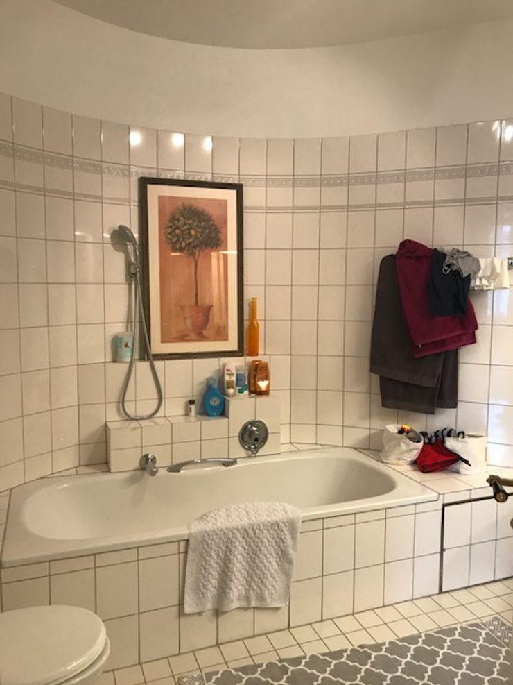 Badezimmer Zwei - VORHER Tschangizian Home Staging & Redesign