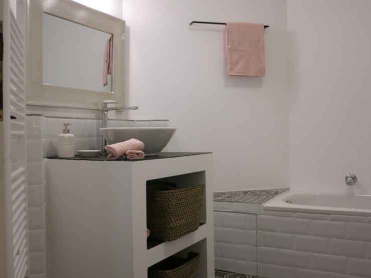 Badezimmer Drei - NACHHER Tschangizian Home Staging & Redesign