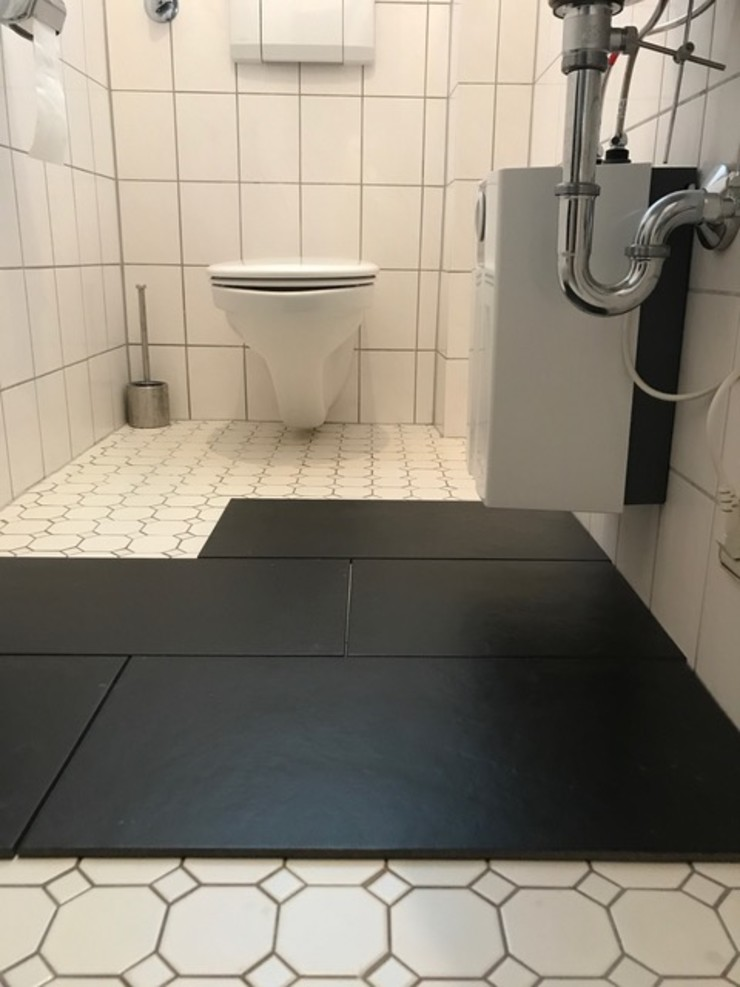 Gästetoilette - VORHER Tschangizian Home Staging & Redesign