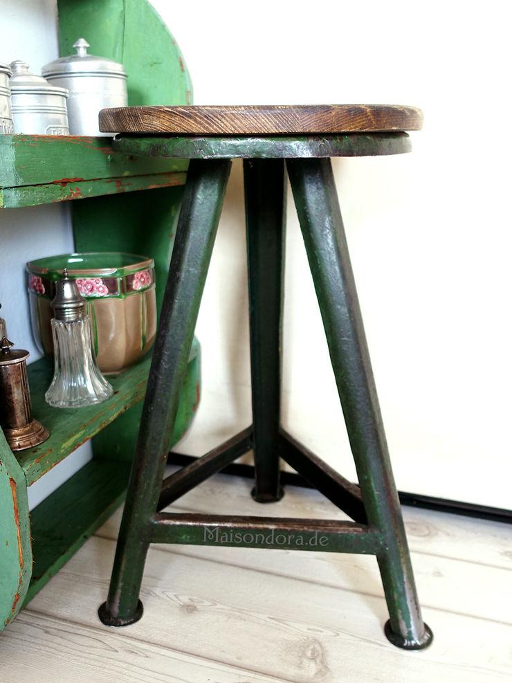 Maisondora Vintage Living Study/officeChairs Metal Green