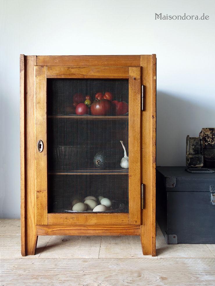 Maisondora Vintage Living KitchenCabinets & shelves Wood Brown
