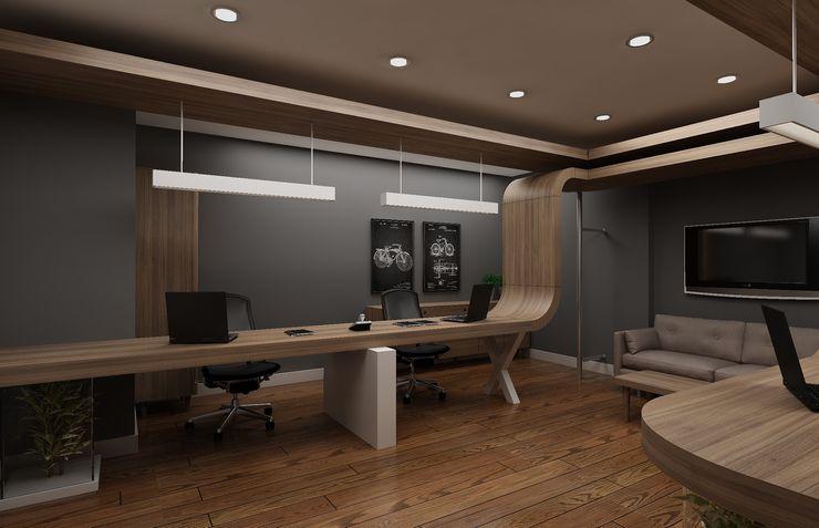 Ofis Dekorasyonu Grand Office Modern Çalışma Odası