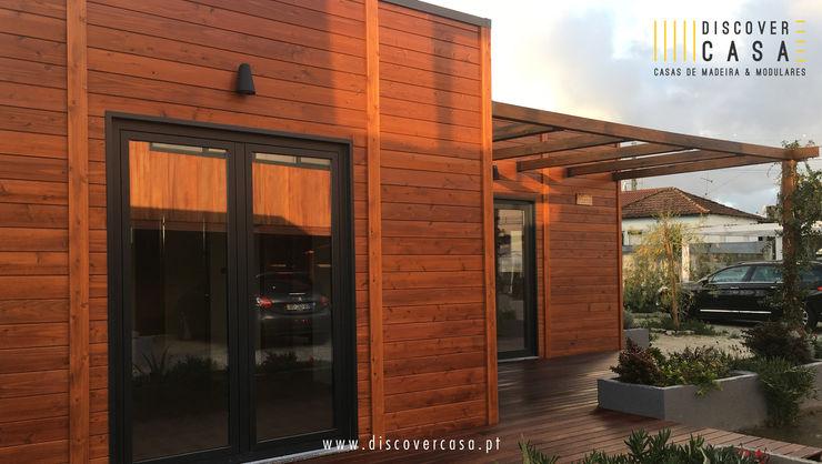 Discovercasa   Casas de Madeira & Modulares Casas de madera Madera Marrón