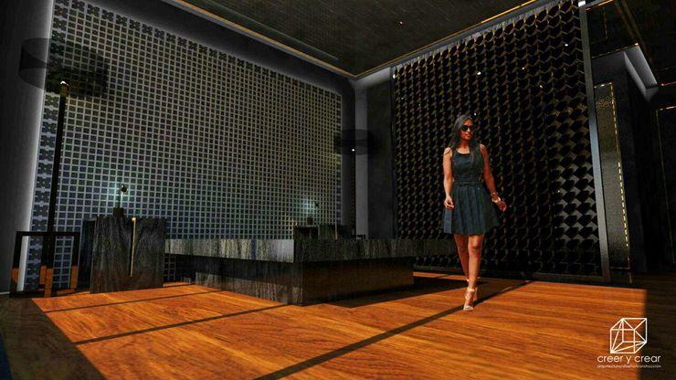 Creer y Crear. Arquitectura/Diseño/Construcción 臥室配件與裝飾品 木頭 Wood effect