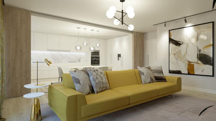 Glim - Design de Interiores WohnzimmerAccessoires und Dekoration