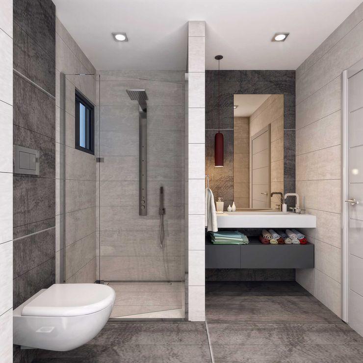 ANTE MİMARLIK Moderne Badezimmer