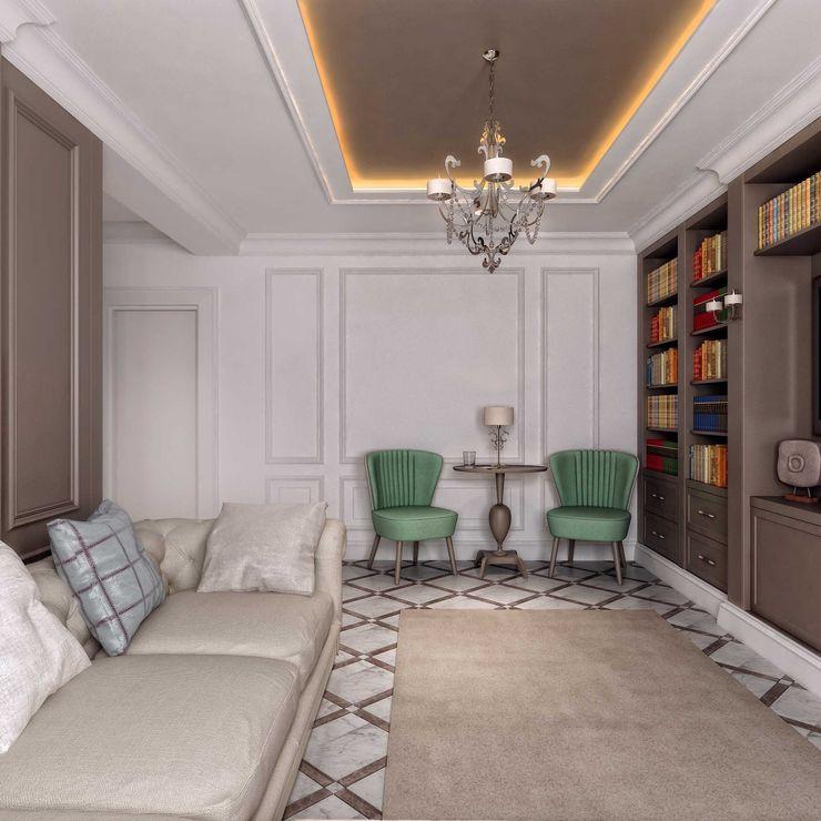Zeminler ANTE MİMARLIK Modern Oturma Odası