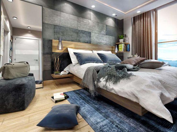 Avcılar Cadde Bostan ANTE MİMARLIK Modern Yatak Odası