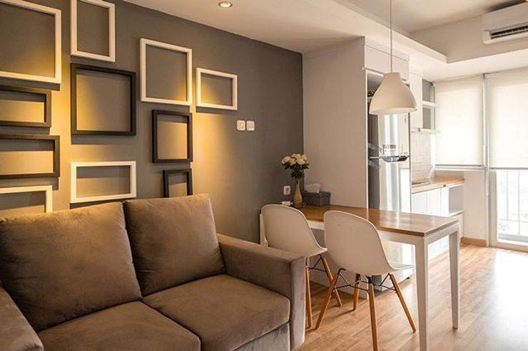 Interior Apartemen FIANO INTERIOR Ruang Makan Minimalis