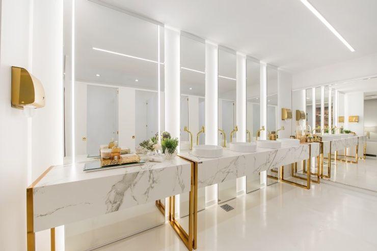 Projeto de Interiores Comercial   Casa para Festas BG arquitetura   Projetos Comerciais Locais de eventos modernos