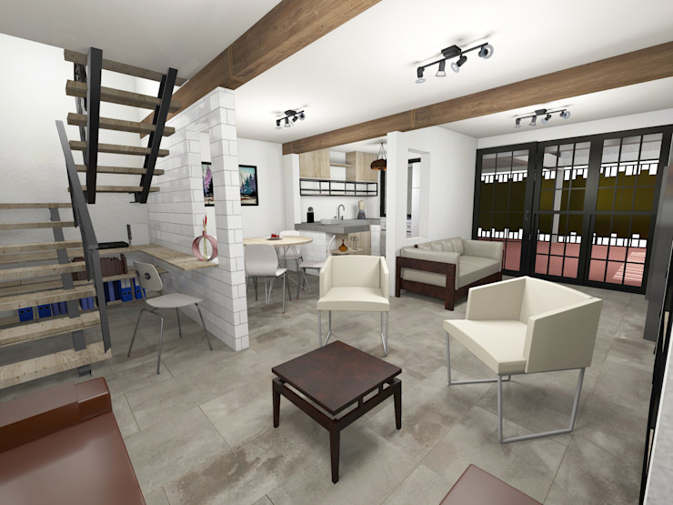 Remodelación Casa Habitación Prototype studio Casas multifamiliares