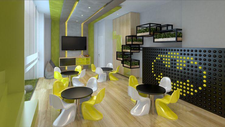 K'ANKA Modern media room
