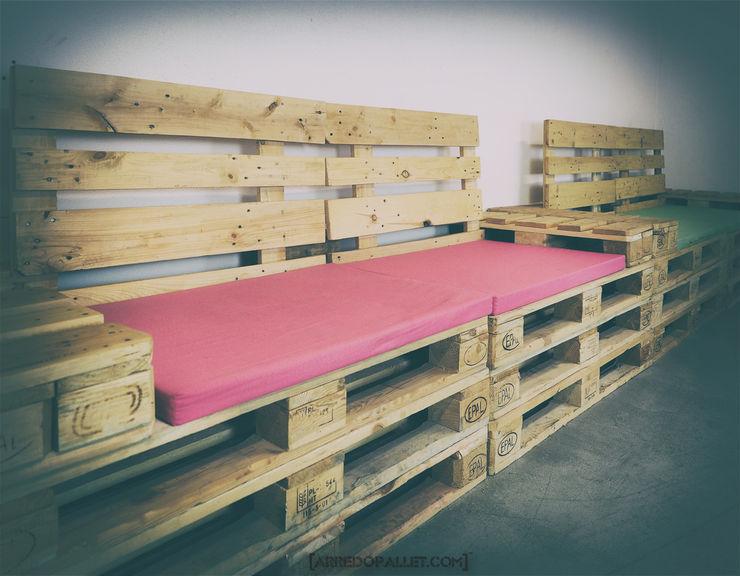 ARREDOPALLET Living roomSofas & armchairs Solid Wood