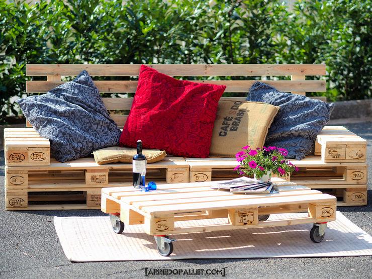ARREDOPALLET Living roomSofas & armchairs Wood