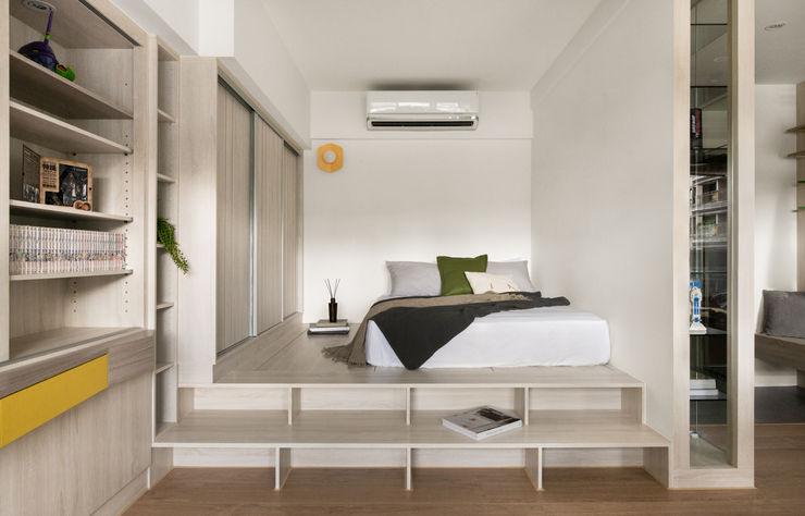 臥室 邑田空間設計 Eclectic style bedroom