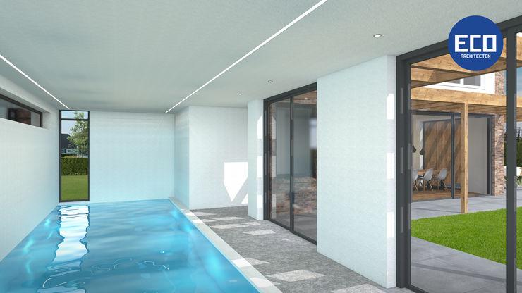 ECO architecten 泳池