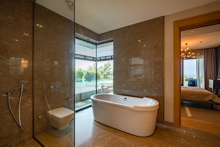 Slash Architects Modern Banyo