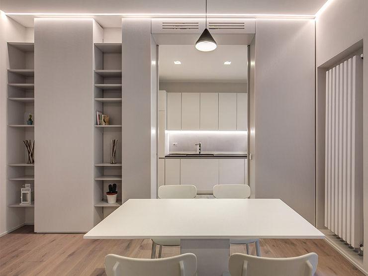 DONIZETTI MOB ARCHITECTS Sala da pranzo moderna