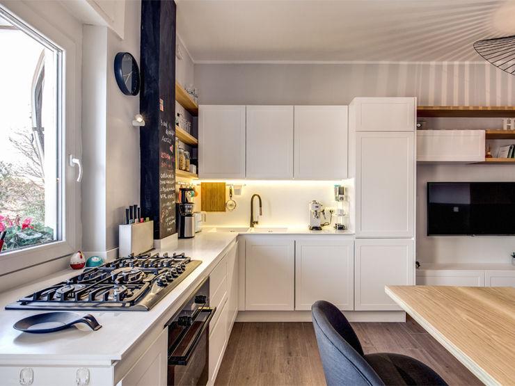 MONTEFALCO MOB ARCHITECTS Cucina moderna