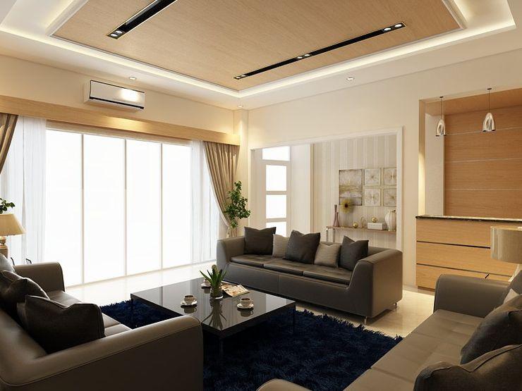 Living Room Solo Arsitekpedia Ruang Keluarga Modern